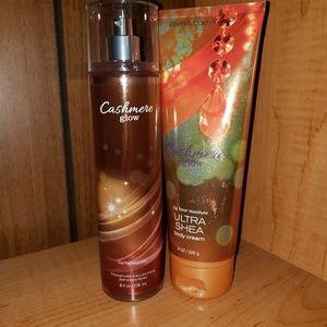 Bath & Body Works Body Spray and Body Cream